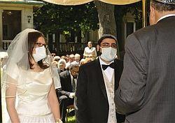 Swine Flu Wedding